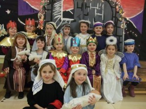 The cast of the Nativity Play 2010