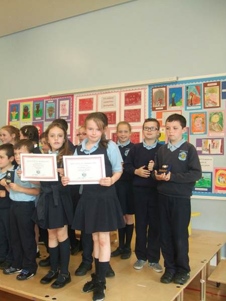 Star Pupil Class and Highest Attendance Class Awards