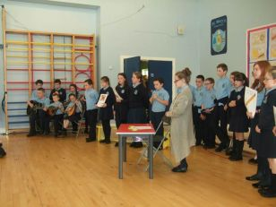 Mr Reilly's class Assembly