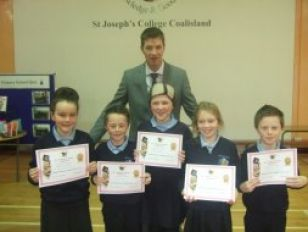 Winners in local School's Quiz