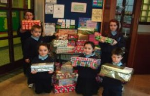 St Marys pupils show concern for others