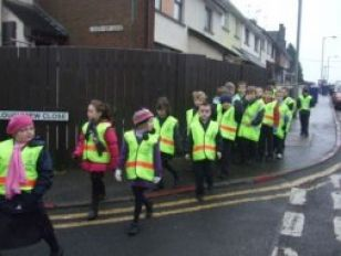 Road Safety Walk!!!