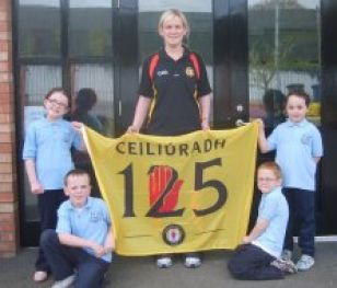GAA 125 Schools Day commemorative flag
