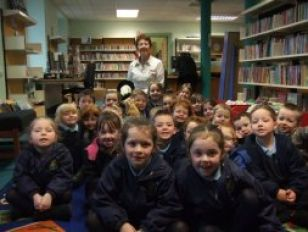 Reception/Primary 1 Library Visit