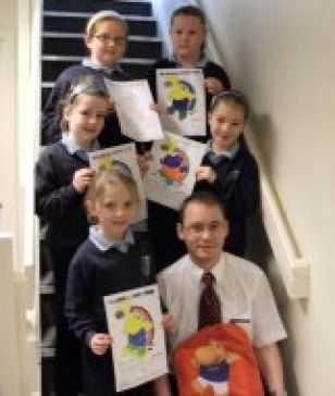Primary 3 awarded 'Henry Hippo'