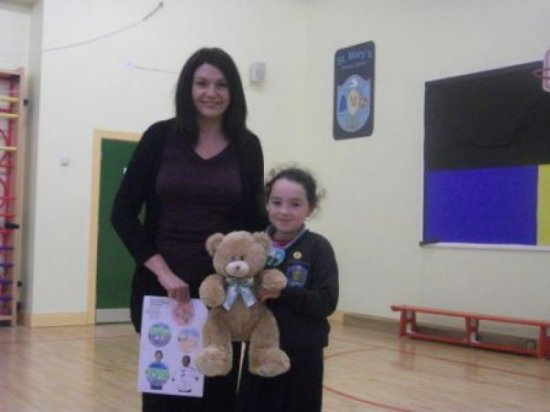 Barnardos - child and teddy