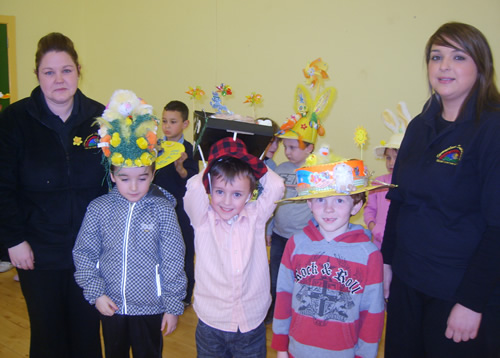 P3 Winners of Easter Bonet competition