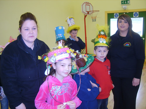 P4 Winners of Easter Bonnet Competition