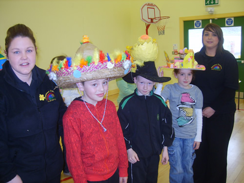 P5 Winners of the Easter Bonnet Competition