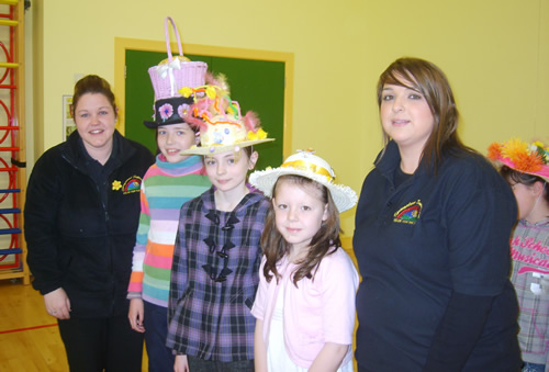 P6 Winners of the Easter Bonnet Competition