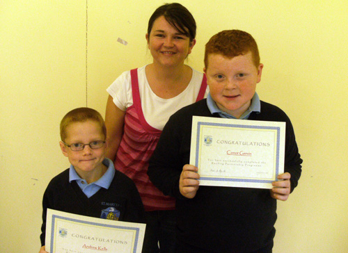 Reading Partnership Programme awards