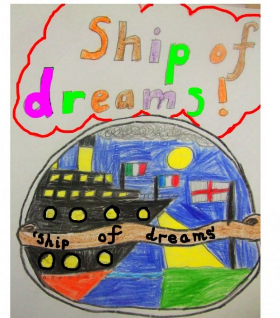 Comenius Ship of Dreams, click on the picture to view our blog!